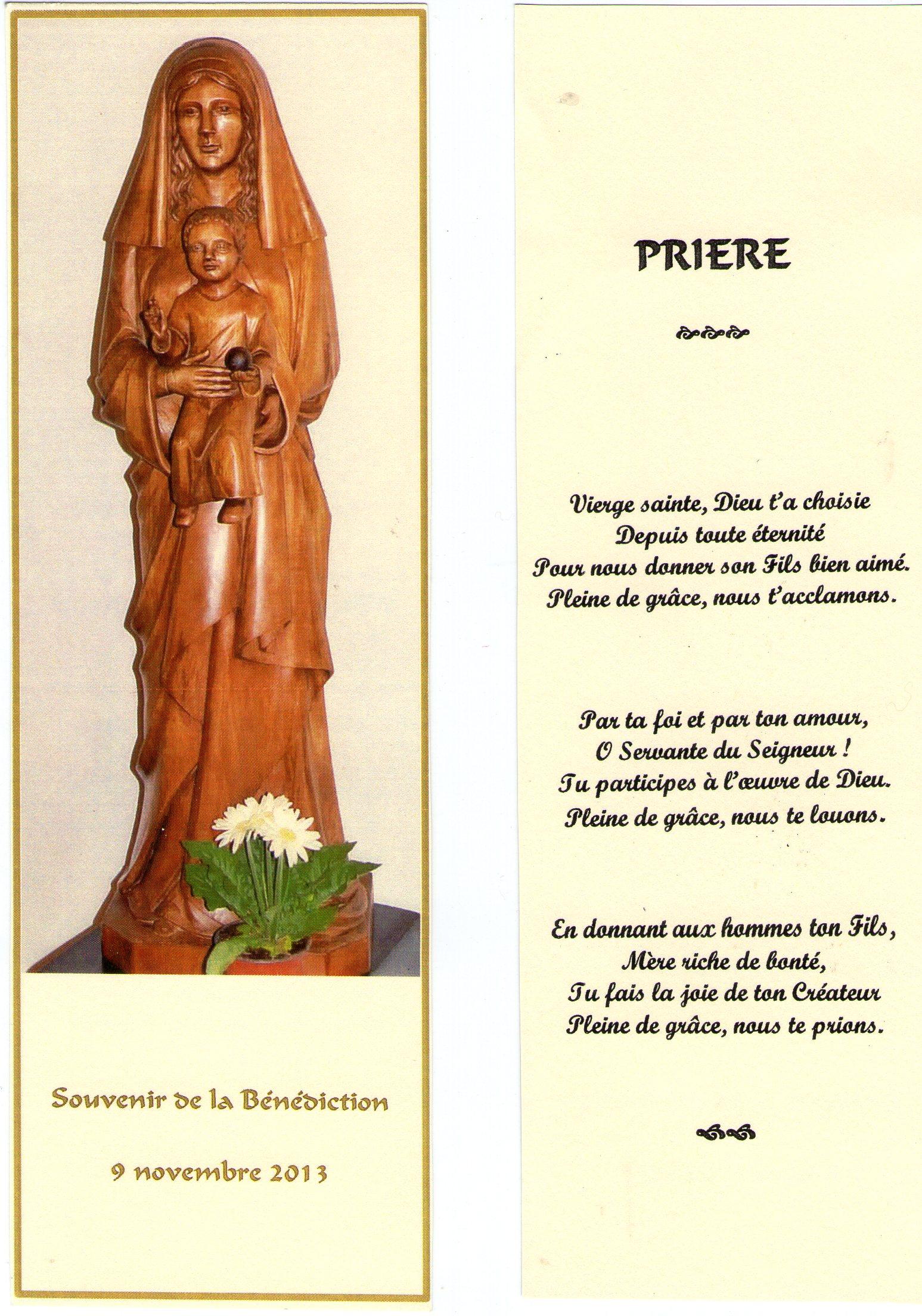 Pri re des c libataires Notre Dame des Rencontres